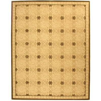 Fullerton Creme Geometric Area Rug Rug Size: Rectangle 79 x 99