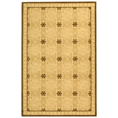 Fullerton Creme Geometric Area Rug Rug Size: Rectangle 56 x 86