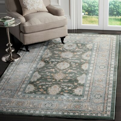 Hartsville Alpine/Mauve Area Rug Rug Size: Rectangle 8 x 10