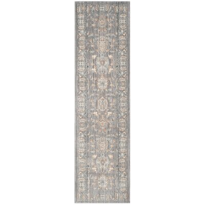 Hartsville Gray Area Rug Rug Size: Rectangle 4 x 6