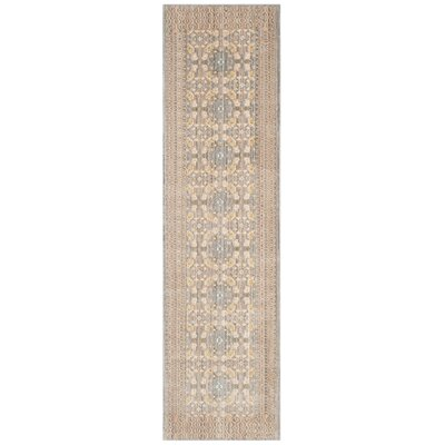 Hartsville Light Gray Area Rug Rug Size: Runner 23 x 8