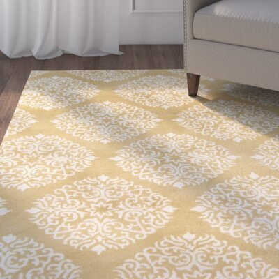 Rocky Hill Hand-Tufted Tan/Khaki Area Rug