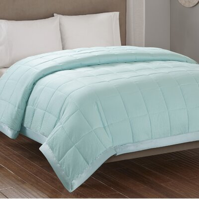Friedens Premium Oversized Down Alternative Blanket Size: Full / Queen, Color: Aqua