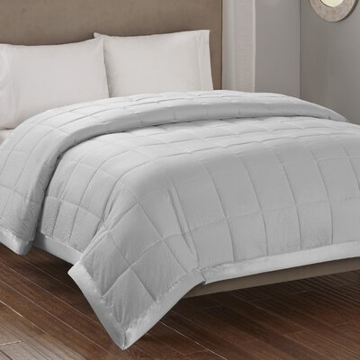 Friedens Premium Oversized Down Alternative Blanket Size: King, Color: Gray