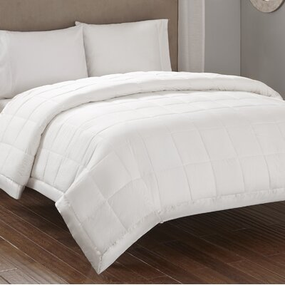 Friedens Premium Oversized Down Alternative Blanket Size: Full / Queen, Color: Ivory