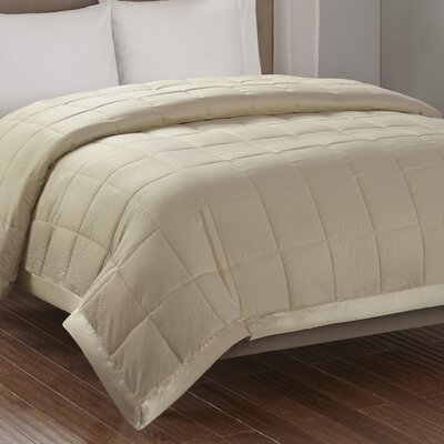 Friedens Premium Oversized Down Alternative Blanket Size: Full / Queen, Color: Taupe