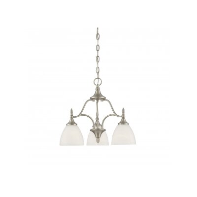 Thayer 3 Light Shaded Chandelier