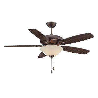 Kelleher 52 5-Blade Ceiling Fan Finish: Byzantine Bronze