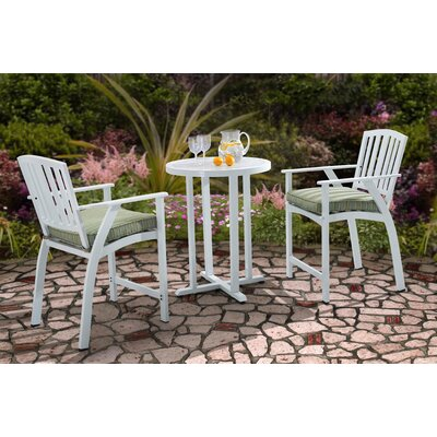 Haymeadow 3 Piece Bistro Set with Cushion