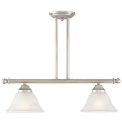 Stoudt 2-Light Kitchen Island Pendant