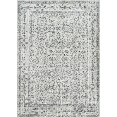 Alcott Hill Freemansburg Gray Area Rug