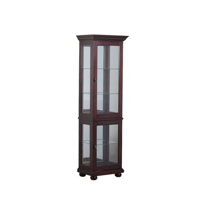 Fernville Lighted Curio Cabinet