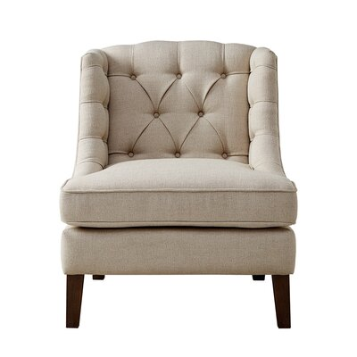 Hodgson Wingback Chair Upholstery: Cream