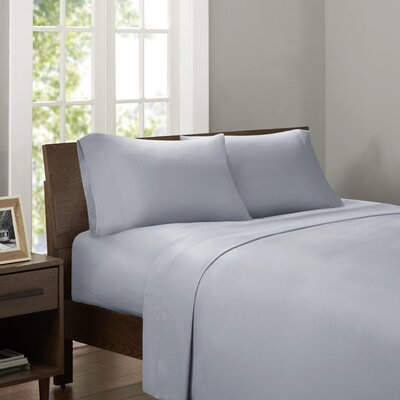 Drennan 320 Thread Count Sheet Set Size: Twin, Color: Gray