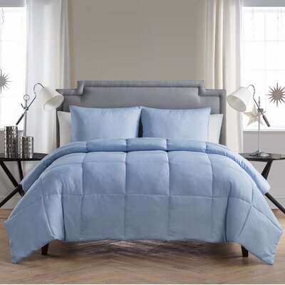 Finleyville Comforter Set Size: Full/Double, Color: Light Blue Denim
