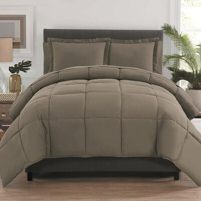 Forestport Bed in a Bag Color: Taupe, Size: Full/Double ALCT8734 32999014