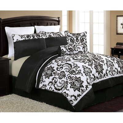 Ferndale 8 Piece Comforter Set Size: King