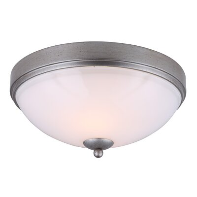 Merkle 2-Light Flush Mount