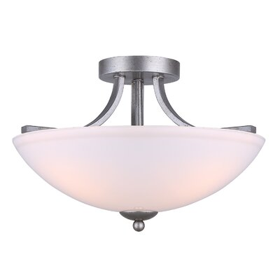Merkle 3-Light Semi Flush Mount