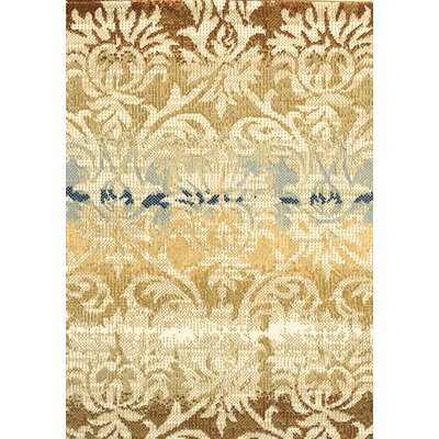 Greenside Khaki Area Rug Rug Size: 67 x 96