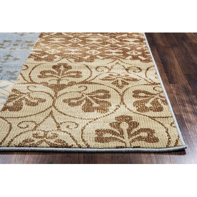 Greenside Camel Area Rug