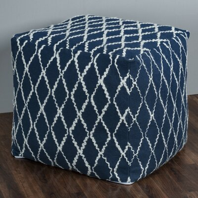 Groves Square Pouf Ottoman