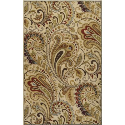 Forres Hand-Tufted Blue/Brown Area Rug Rug Size: Rectangle 5 x 8