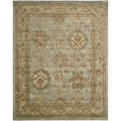 Glarus Aqua Rug Rug Size: Rectangle 56 x 86