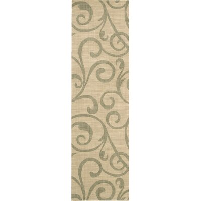 Janssen Light Gold Rug Rug Size: Runner 23 x 8