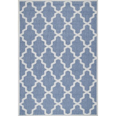 Sidell Blue Area Rug Rug Size: 76 x 109