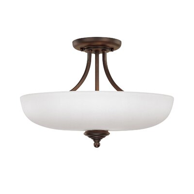 Farrell 3-Light Semi Flush Mount