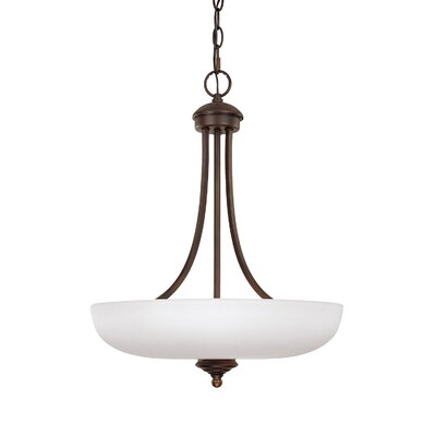 Farrell 3-Light Bowl Pendant