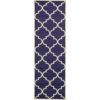 Emjay Navy Blue Area Rug