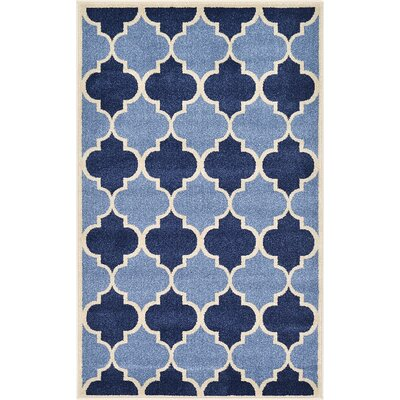 Emjay Light Blue Area Rug