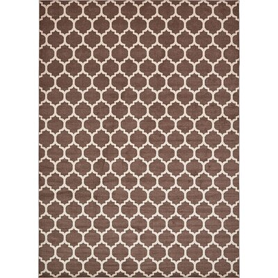 Emjay Light Brown Area Rug Rug Size: 13 x 18
