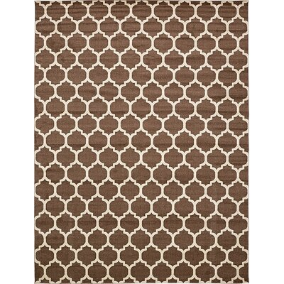 Emjay Light Brown Area Rug Rug Size: 122 x 16