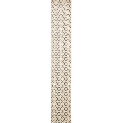 Emjay Beige Area Rug Rug Size: Runner 27 x 165
