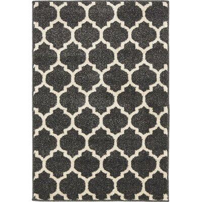 Emjay Black Area Rug