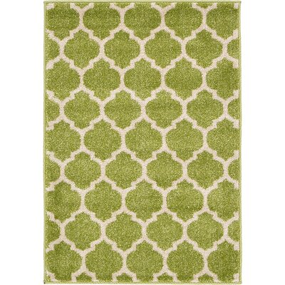 Emjay Light Green Area Rug Rug Size: 22 x 3