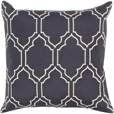 Aditya 100% Linen Throw Pillow Cover Size: 18 H x 18 W x 0.25 D, Color: BlueNeutral