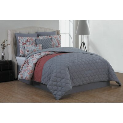 Johanson 8 Piece Comforter Set Size: Queen