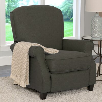 Brickhill Manual Recliner Upholstery: Army Green