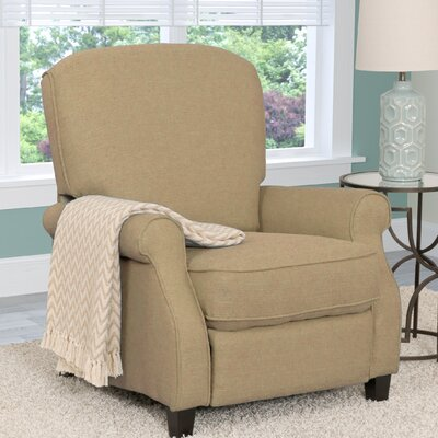 Brickhill Manual Recliner Upholstery: Beige