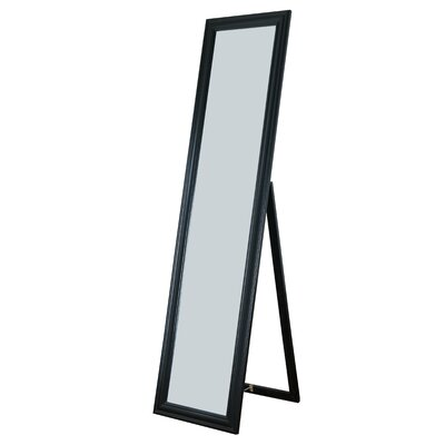 Rectangle Rubberwood Standing Wall Mirror