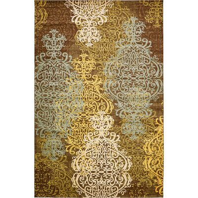 Marengo Brown Area Rug Rug Size: 106 x 165