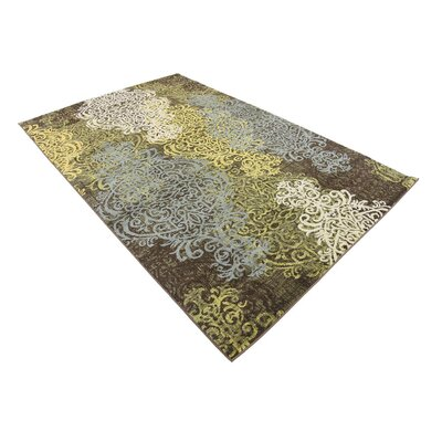 Marengo Brown Area Rug Rug Size: Rectangle 5 x 8