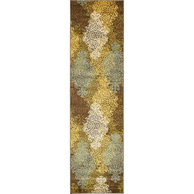Marengo Brown Area Rug Rug Size: Runner 27 x 10