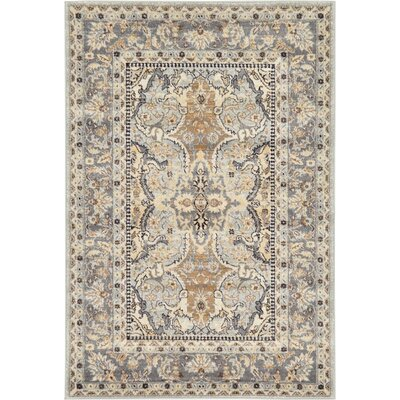 Mariel Silver Area Rug Rug Size: Rectangle 4 x 6