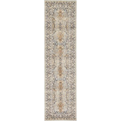 Mariel Silver Area Rug Rug Size: Rectangle 27 x 10