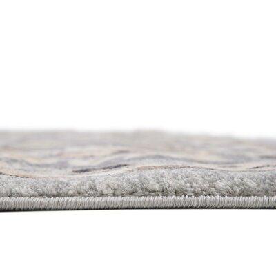 Mariel Silver Area Rug Rug Size: 9 x 12